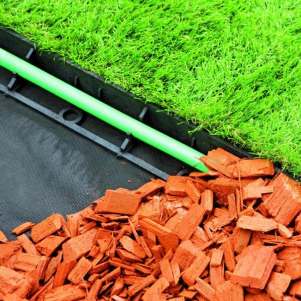 ECORASTER - plastový obrubník - využití v praxi