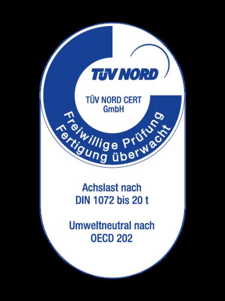 TUV NORD Certifikace